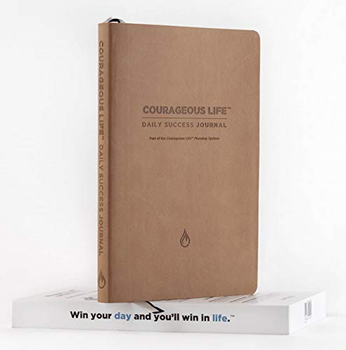 Courageous Life Daily Success Journal - The Ultimate Journal And Video System To Help You Stay Positive, Focused, And Achieve Your Goals