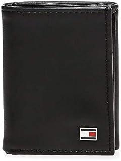 Tommy Hilfiger wallet for Men, Leather, Black, 31TL11X018