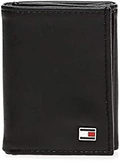Tommy Hilfiger wallet for Men, Leather, Black, 31TL11X018
