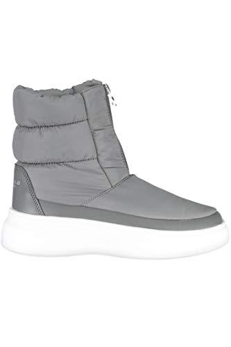 U.S. POLO ASSN. Damen Milly Kurzschaft Stiefel, Grau (Grey 013), 41 EU