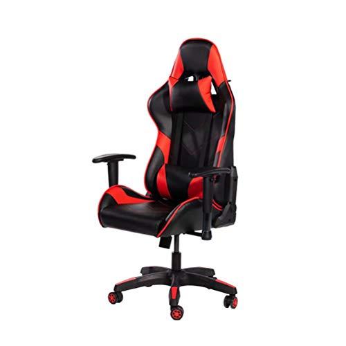 Gaming Racing Bureaustoel Heavy Duty Draaibare PC Computer Bureaustoel - Hoge rug Ergonomisch ontwerp met lendensteun en neksteun