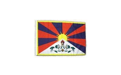 Fahne Flagge Tibet 30 x45 cm
