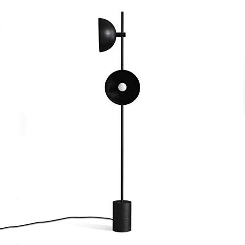 Zwarte Hoorn Vloerlampen Staand voor Woonkamer Restaurant Industriële Model Kamer Minimalistische Studie Vloerlampen 12-21