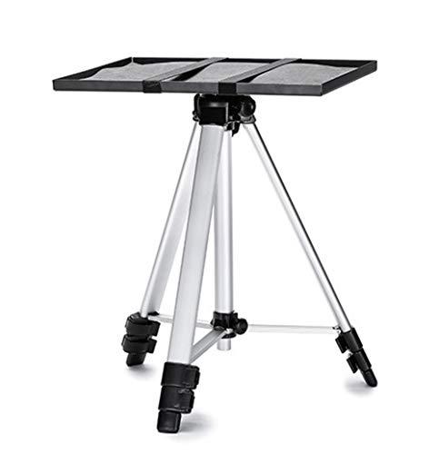 IGRNG Low Profile-Projektorhalterung Projektor Stativ Aluminiumlegierung Licht Tragbare Fach Universal-Hebe Halterung für Handy-Überwachung
