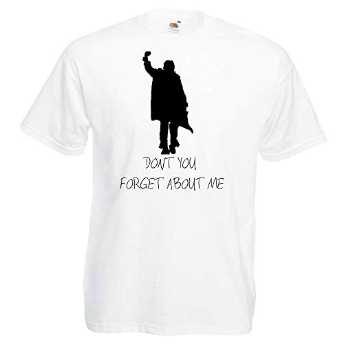 Don't You Forget About Me Breakfast Club T-shirt, White or Black, S to 3XL