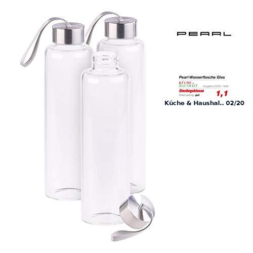 3 bouteilles en verre borosilicate - 550 ml