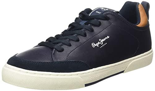 Pepe Jeans Rodney Basic 21 - Zapatillas Deportivas para Hombre, (595navy), 40 EU