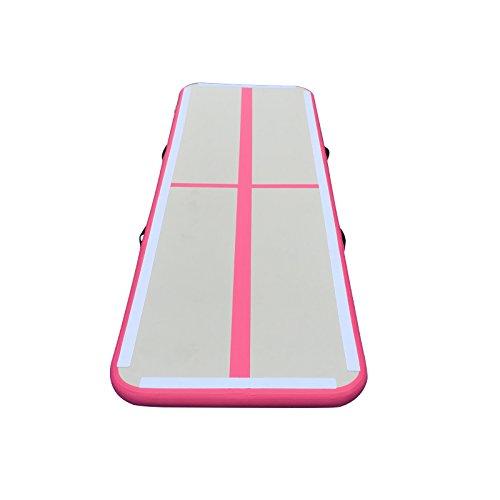 BRIS Inflatable Gym Mat Home Air Floor Inflatable Tumbling Mat for Gymnastics Inflatable Air Track