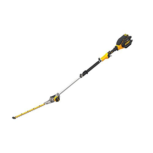 DEWALT 40V MAX Cordless Hedge Trimmer, Telescoping Pole, 22-Inch (DCHT895M1)