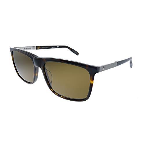 Gafas de Sol Mont Blanc MB0116S Havana/Brown 58/17/150 hombre