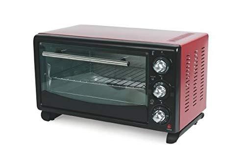 Four 24 L rouge 1380 W ventilé