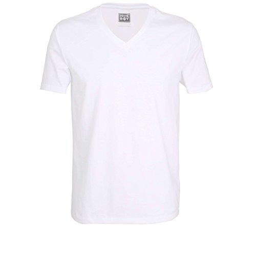 2er Pack HomeBoy Herren T - Shirts weiß Gr. M