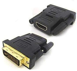 محول HDMI أنثى إلى DVI ذكر 24 5 F-M محول للتلفزيون عالي الدقة