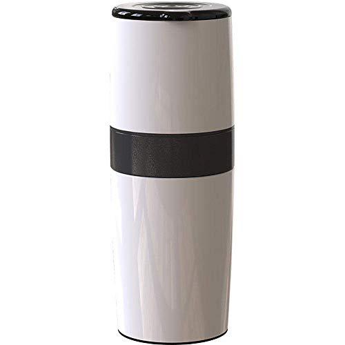 YINGGEXU Ręczny ręczny młynek do kawy do ziaren kawy, wzór ze stali nierdzewnej, regulowany ceramiczny wybór młynka, przenośny ręczny ekspres do kawy - idealny do domu, biura lub na zewnątrz w podróży