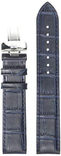 Tissot Leather Calfskin Blue Watch Strap, 19mm Width (Model: T600032781)