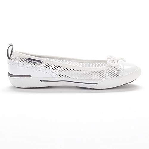 Eddie Bauer White Slip-On Skimmer Shoes - Women