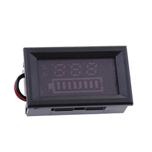 Sharplace 48V A Mené Voltmètre Testeur De Capacité De Batterie D'indicateur Pour Modification De Moteur