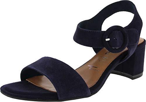 Tamaris 1-1-28324-24 805 dames open sandalen met sleehak