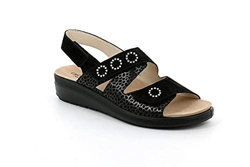 Grunland SE0438 DABY Sandalo Donna P./S. Nero 40