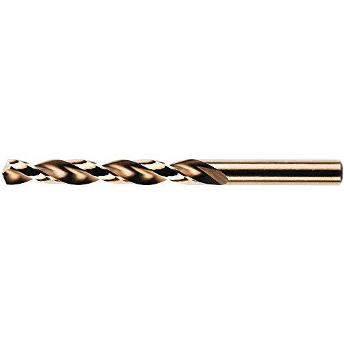 REISSER 145159 HSS Cobalt DIN338 JOBBER Drill (Wallet 1pc) 3.2mm, Gold