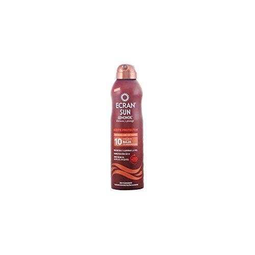 Ecran Sun Lemonoil Broncea+, Aceite Bruma Solar que Broncea y Protege, con SPF10 - 250 ml