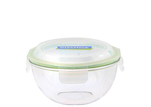 GLASSLOCK (MBCB-400, 4L Frischhaltedose aus Glas - Salatschüssel Typ (4L)