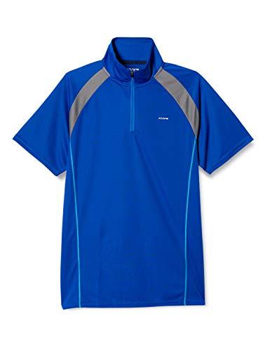 『(エーディーワン)A.D.ONE QUICKDRY クイックドライ ゴルフシャツ 吸汗速乾機能 ハーフジップシャツ スポーツシャツ AD-786B』のトップ画像
