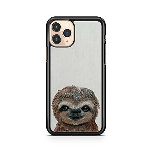 Impresionante compatible con Majestic Cuddly Adorable Lindo Bebé Perezoso Animal Cool Phone Case Cover (Modelo de Teléfono: Compatible con Samsung Galaxy S7 Edge)