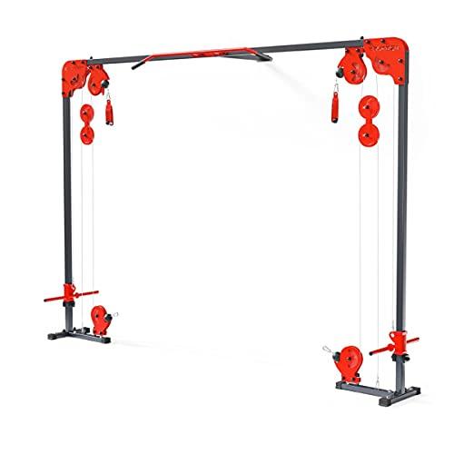 K-Sport Cavo crossover macchina olimpico Multi Gym attrezzature Casa Stazione di Allenamento 150kg pesi casa palestra libera pesi corda esercizio