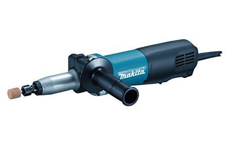 Makita GD0801C rechte slijper, zwart, blauw, zilver