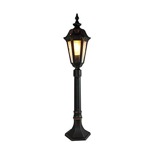 BTBAM Outdoor Hoge Pole Light Lawn aluminium glas Waterdicht IP54 Garden Landschap Straat Pillar Column Lamp Buitenkant Hotel Park Garden Villa Decor bericht Lantern E27