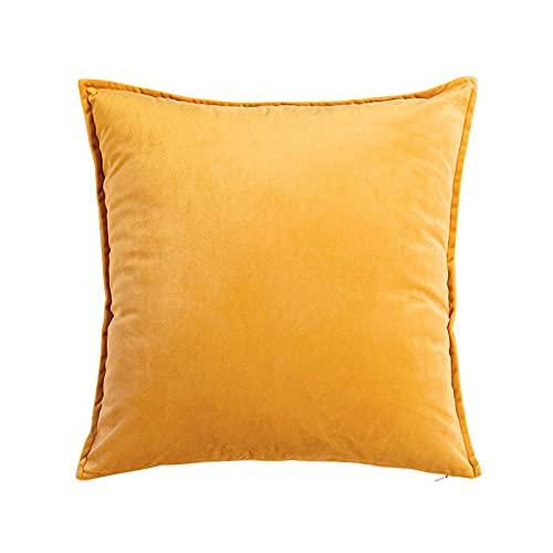 Almohada Ergonómica para Dormir en Diferentes Posturas (Lado, Espalda o Estómago) -Naranja_33 * 50cm