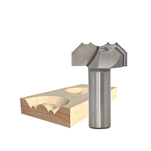 1 Uds 1/2 vástago herramientas de carpintería doble arco dragon ball enrutador bit cortador de carpintería