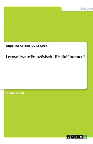Lernsoftware Französisch - Réalité Interactif