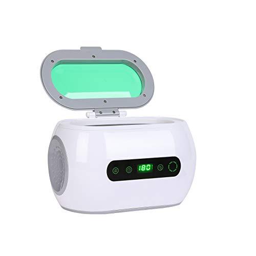 Sfeomi 600ml Ultraschallreinigungsgerät Ultraschallreiniger mit Korb LCD Anzeige Ultrasonic Reinigungsmaschine für Brillen Schmuck