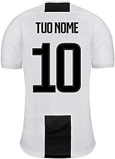 f755f1412 Dolce idea CIALDA in Ostia Personalizzabile per Torta Maglia Juventus con  Nome E Numero A Scelta