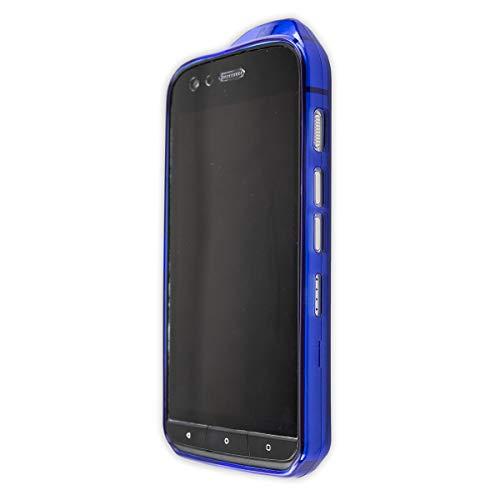 caseroxx TPU-Hülle für CAT S61, Handyhülle mit oder ohne Bildschirmschutzfolie (TPU-Hülle, dunkelblau)
