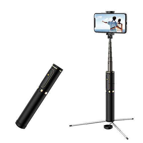 Selfie Stick Statief met Afstandsbediening voor IPhone XS MAX XR X 8 Plus 7 7 Plus Android Samsung Galaxy 3.5-6 Inch Scherm 3 in 1 Uitschuifbare Monopod
