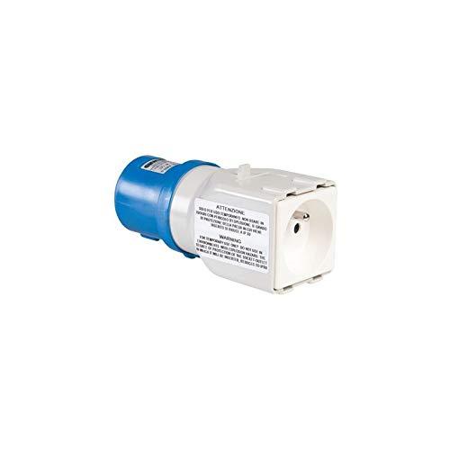 Gewiss GW64203 adaptador de enchufe eléctrico Tipo E (FR) - Adaptador para enchufe (Tipo E (FR), 230 V, 50 - 60 Hz, 16 A, 2P+T, CE)