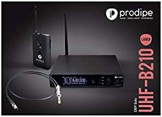 Prodipe PACK UHF DSP GB LANEN - Sistema UHF + cable activo para guitarra/bajo.