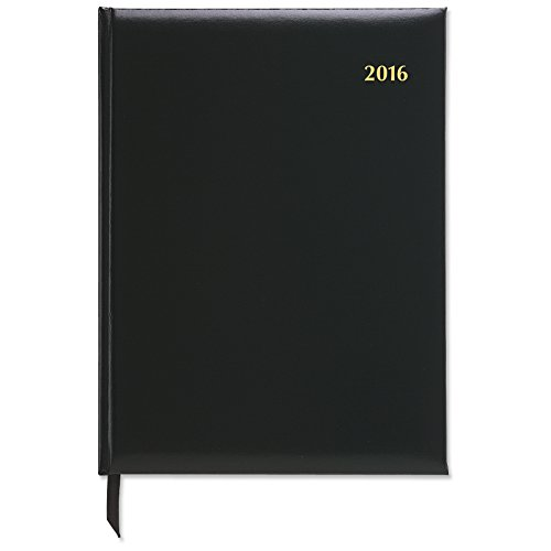 DayTimer Executive Weekly Appointment Book 2016, Wire Bound, 7.5 x 10 Inches Page Size, Black (138011601)