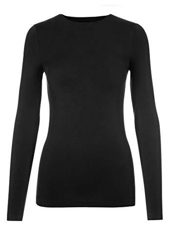 Wolford Damen Viscose Pullover Black XS