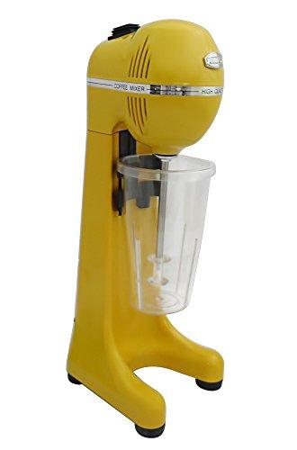 Johny AK/2–2T de RAL de bebidas y licuadora Frappé de Maker, frapiera, 2velocidades, fabricado en Grecia, Amarillo