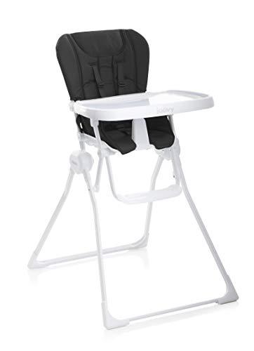 Joovy Nook - Trona plegable compacta y fácil de limpiar, ahorra espacio, color negro