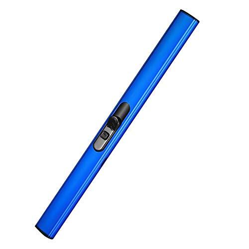 Xmansky Encendedor de Velas, Encendedor de Vela eléctrico Recargable por USB, Resistente...