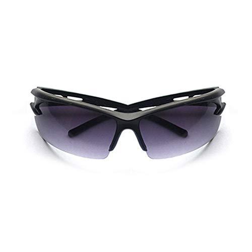 Yi-xir diseño Clasico Equitación Gafas de Sol PC Gafas de Sol a Prueba de explosiones Viajes Gafas de Sol Ski Goggles Motocicleta Vidrios a Prueba de Viento Moda (Color : Dark Grey)