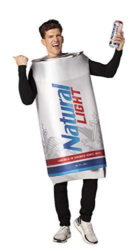 Natural Light Beer Can Costume Unisex design fits Men Women 21+ of age
