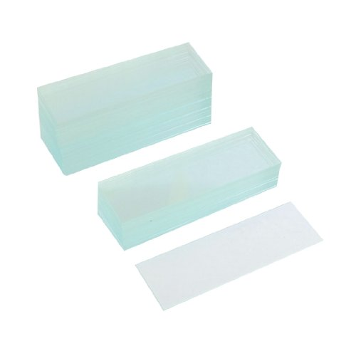 uxcell 50 Pcs Pre-cleaned Microscope Blank Glass Slides 1'x3'