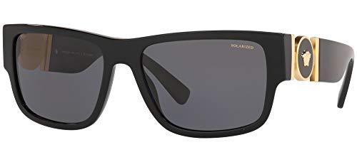 Versace 0VE4369 Gafas de sol, Black, 58 para Hombre
