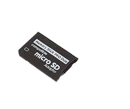MicroSDHC to Memory Stick Pro Duo Cards Adapter for Sony PSP Memory Card